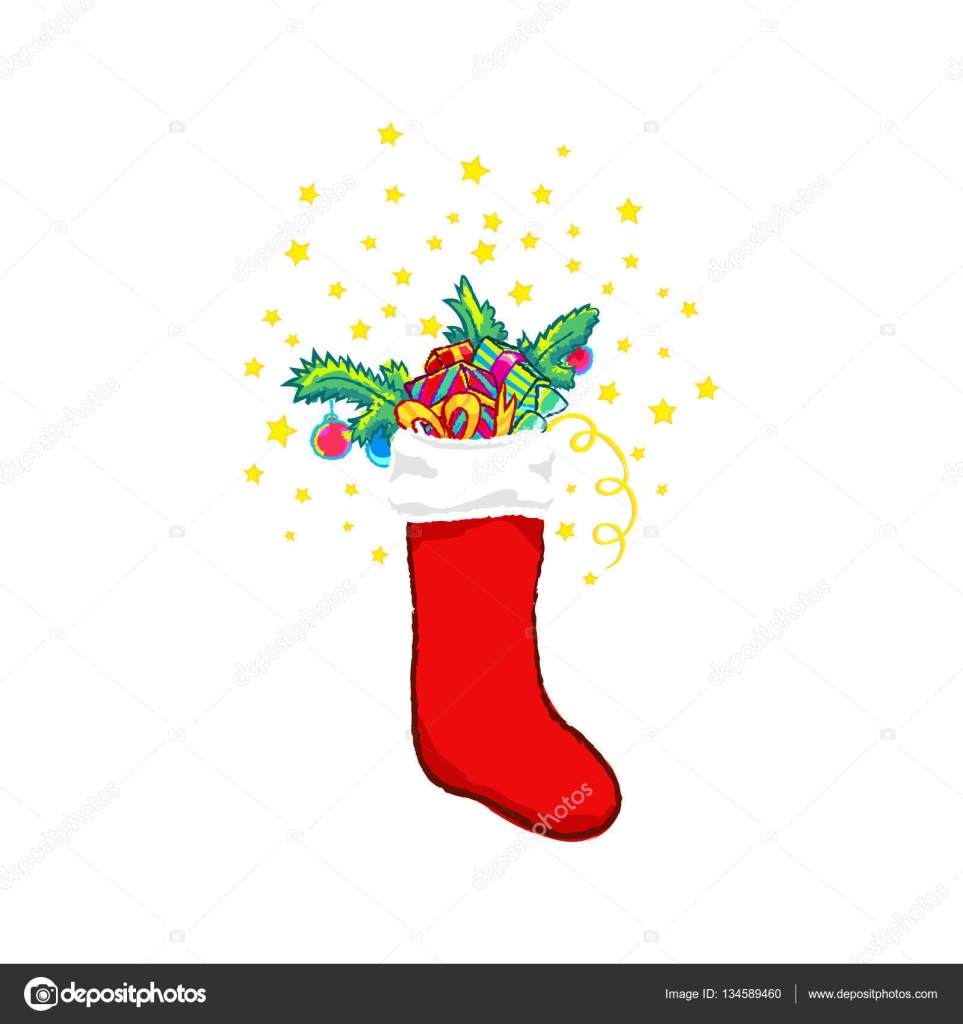 Christmas Stocking Clipart.Clipart Stocking Clip Art Christmas Stocking Vector