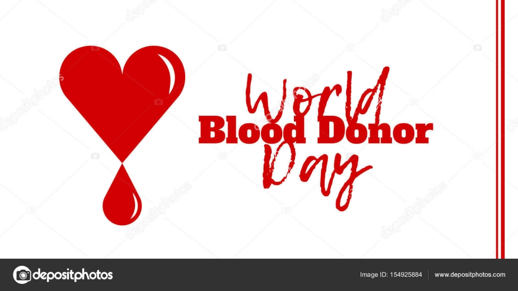 World Blood Donor Day June 14 Stock Vector Pinanatreeangle