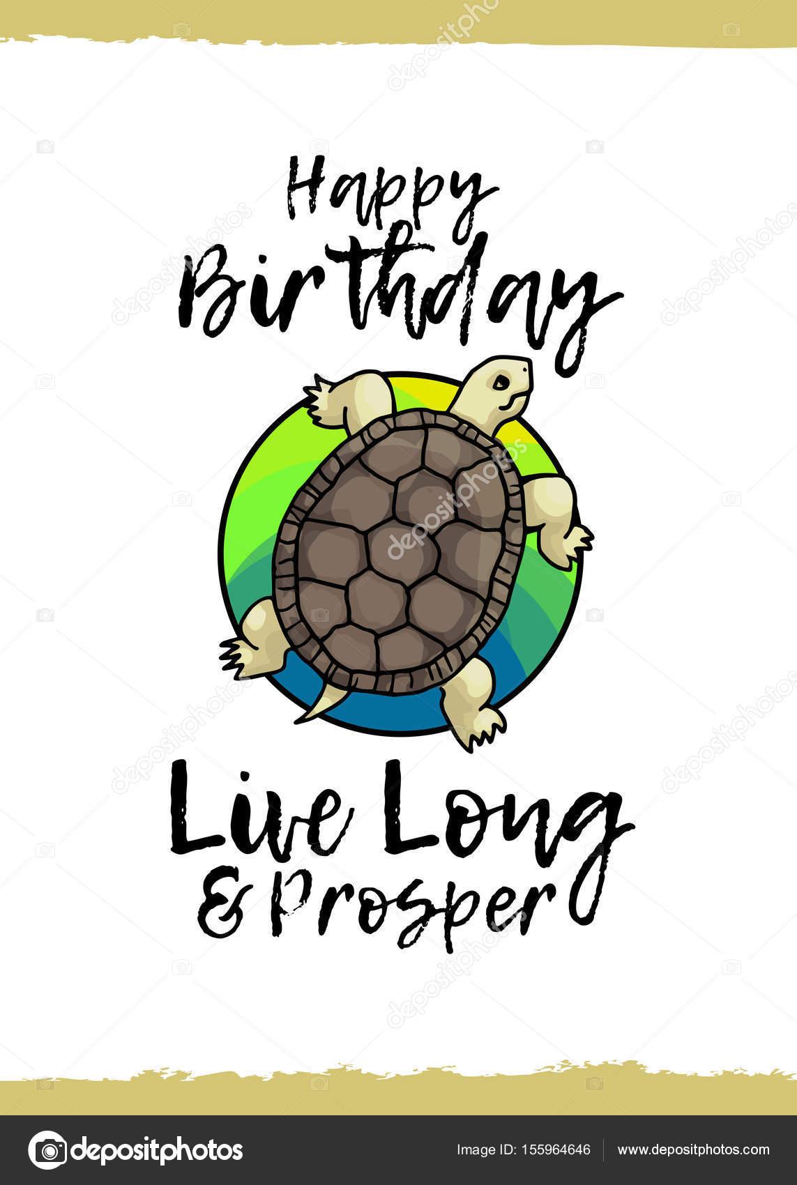 Happy Birthday Greeting Card Stock Vector Pinanatreeangle