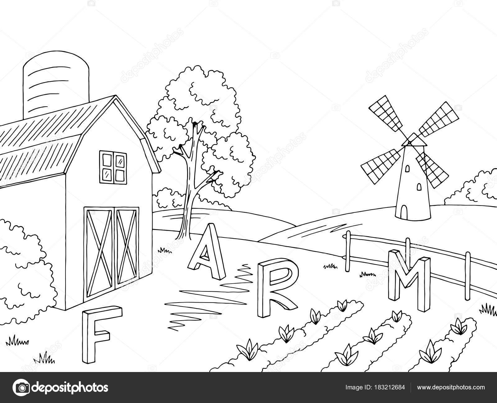 Imágenes Paisajes De Campo Para Pintar Croquis Gráfico