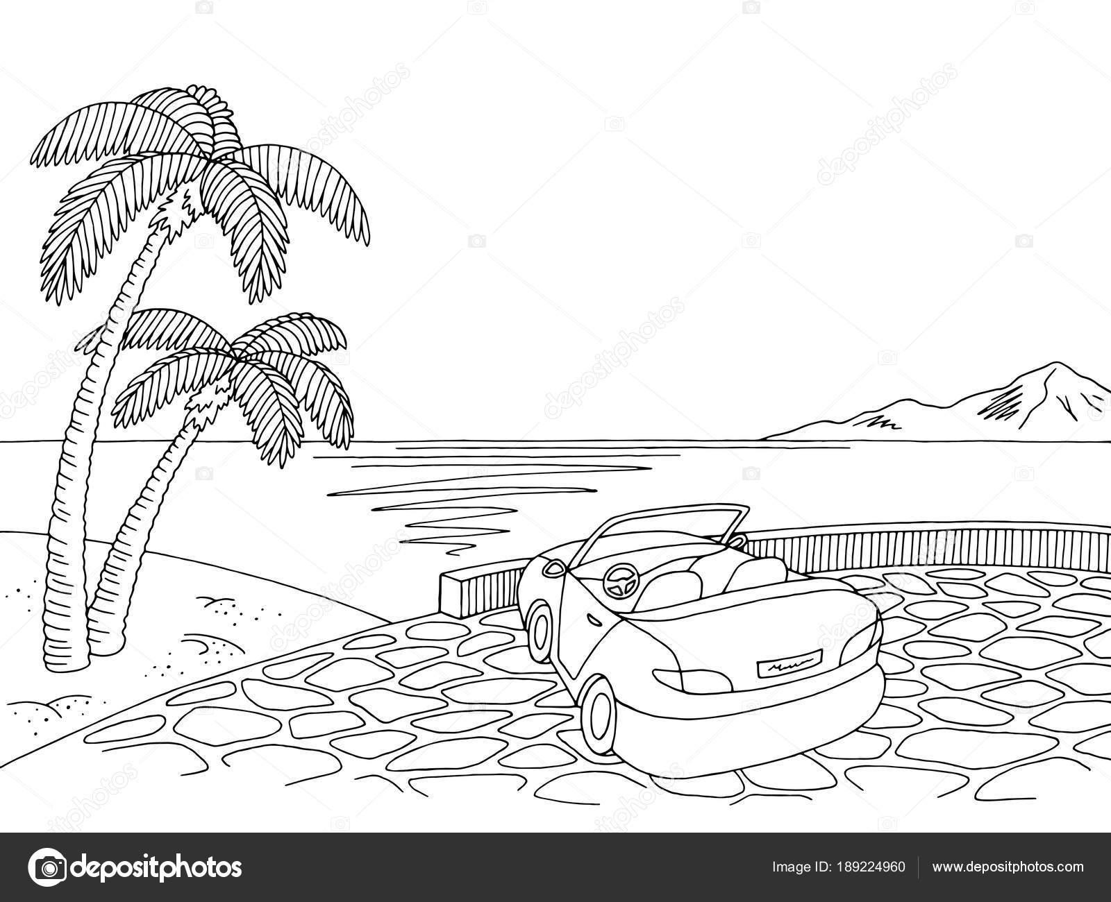 Fotos Paisajes Marinos Para Pintar Mar Costa Cabriolet