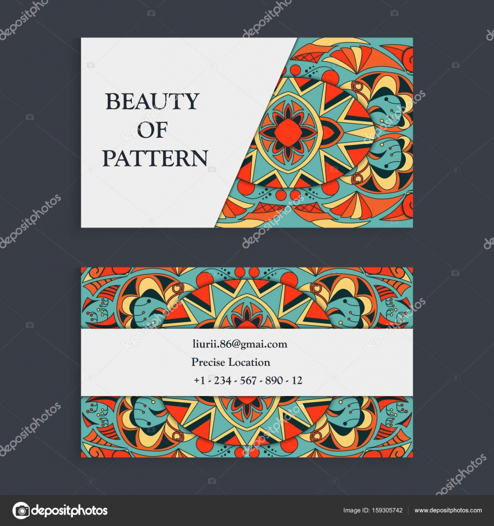 Fond De Dessins La Main Islam Motifs Dottoman Indienne Arabe Parfait Pour Limpression Sur Tissu Ou Papier Carte Visite