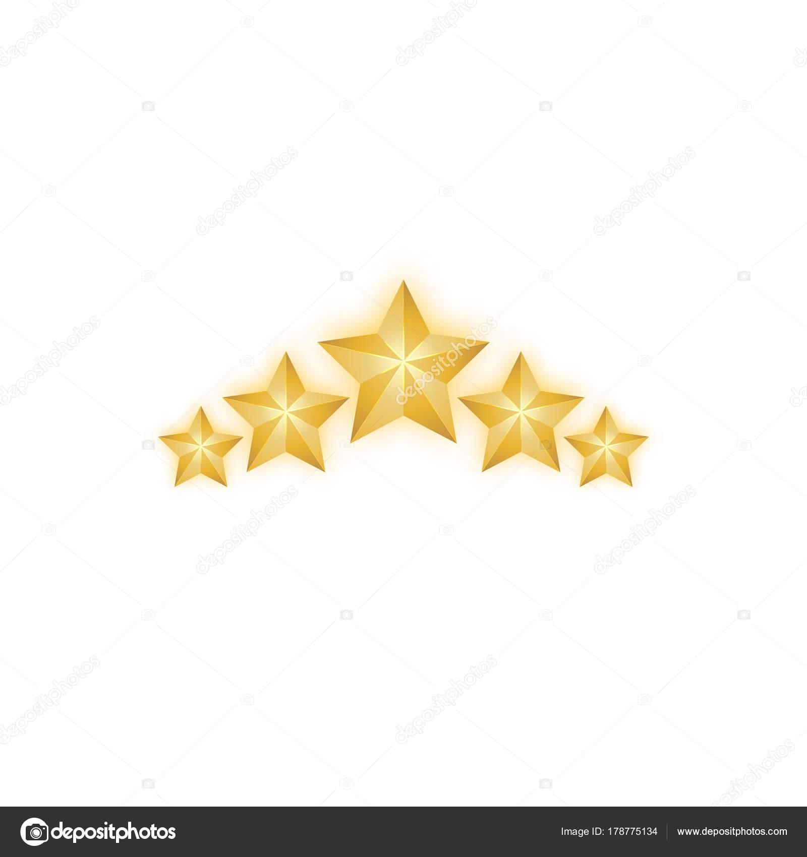 imágenes estrellas navidenas vector de estrellas dorada