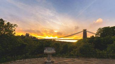 Bristol Clifton Suspension Bridge at Golden Hour F