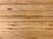 Struttura di tavole di legno di bambù. Priorità bassa e dettaglio.