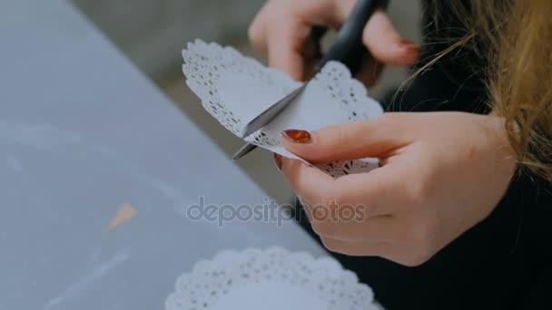 Berufstätige Frau Dekorateur, Designer Schnittmuster Papier