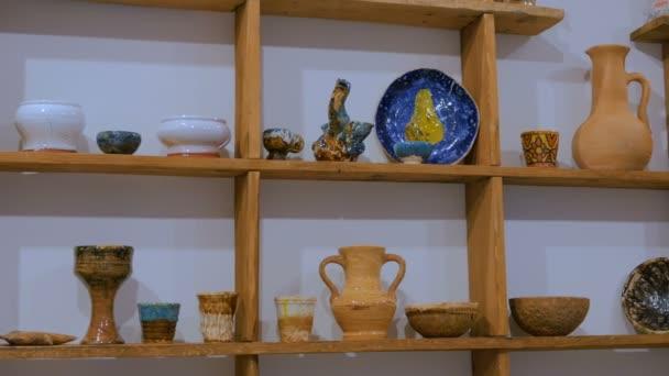 traditionelles Keramikgeschäft
