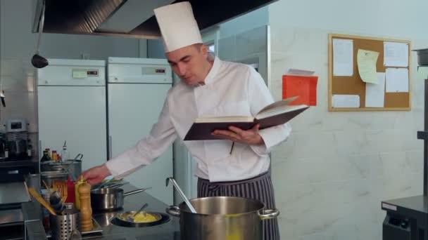 Szakács olvasó cook könyv, és hogy néhány étel