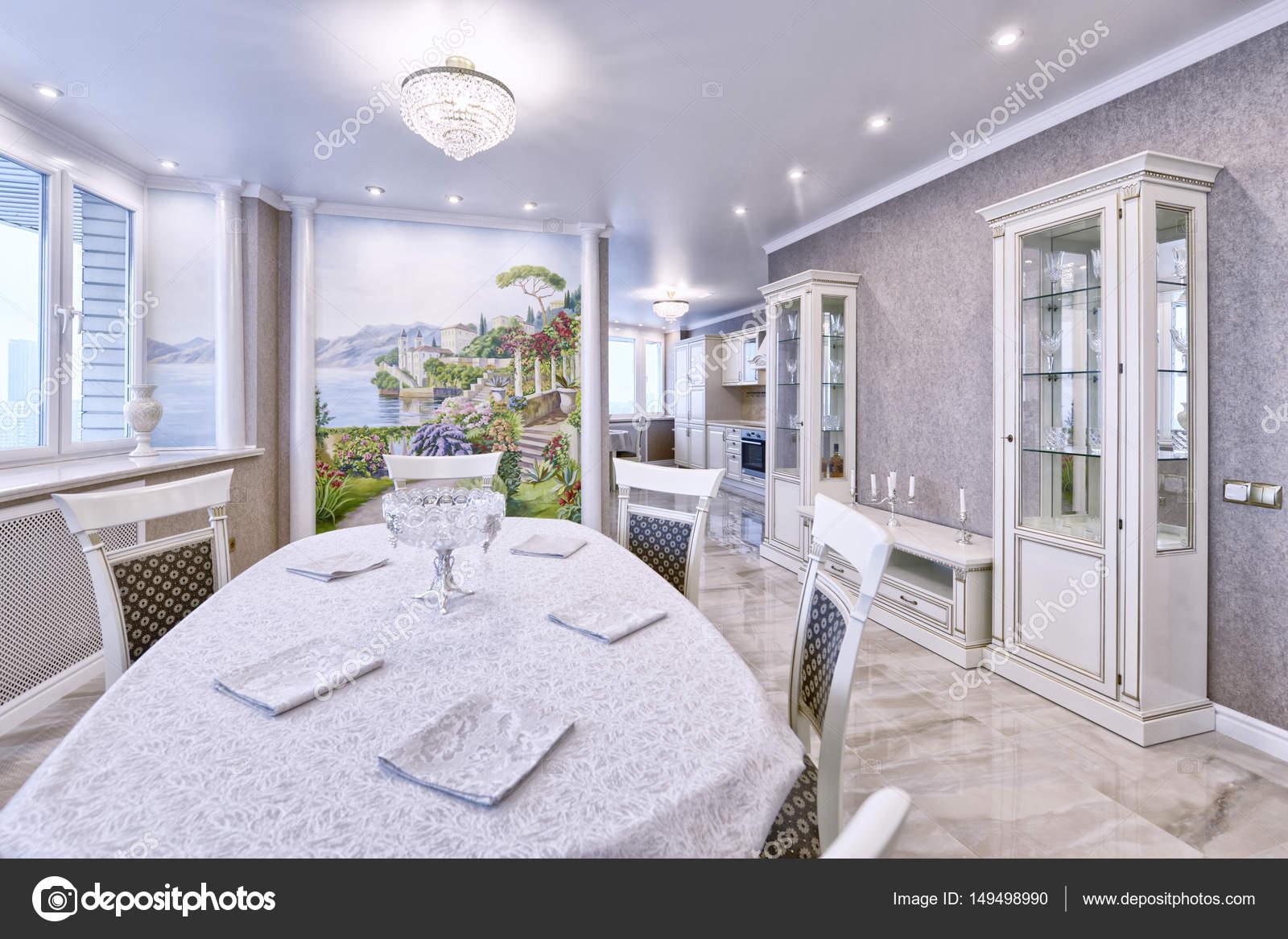 Luxe woonkamer interieur — Stockfoto © ovchinnikovfoto #149498990