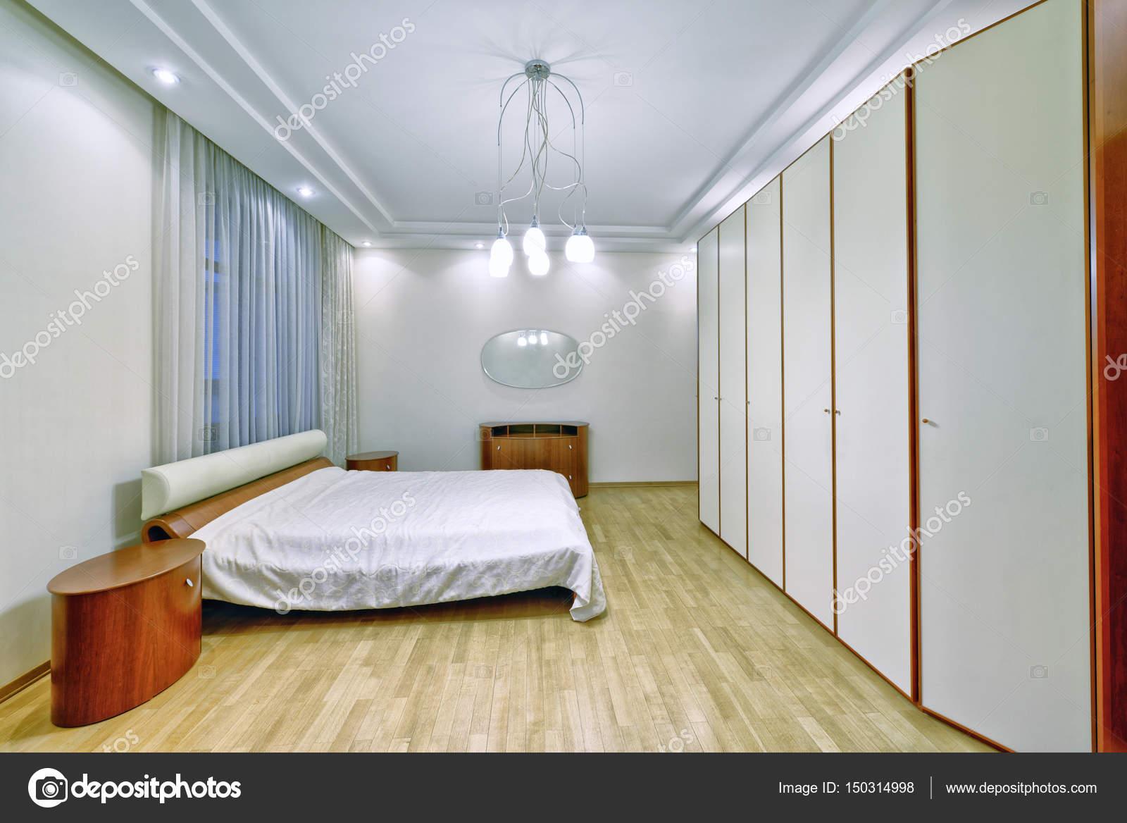 Raumgestaltung Schlafzimmer. — Stockfoto © ovchinnikovfoto ...