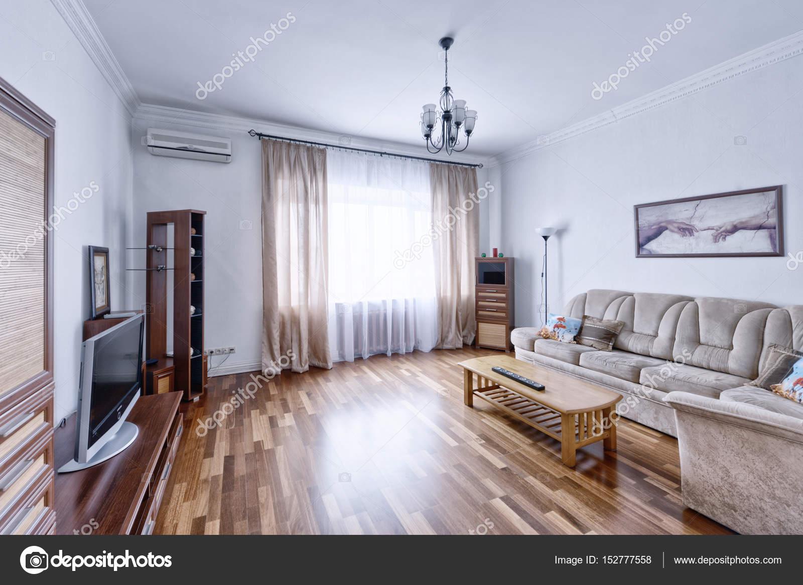 Russland-Moskau - moderne Innenarchitektur Wohnzimmer, städtische ...