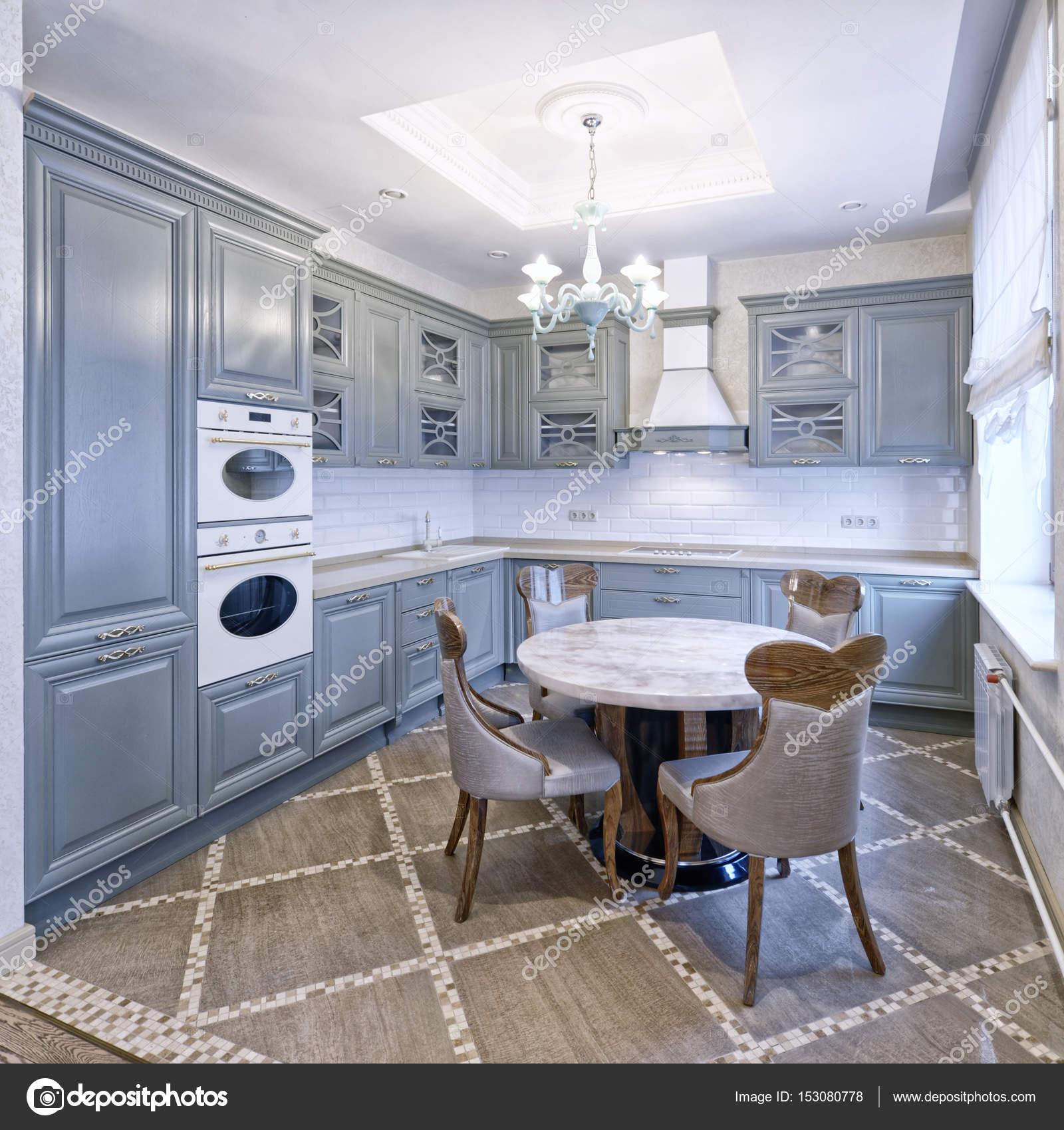 Interior Design Moderne Küche Im Neuen Haus U2014 Stockfoto