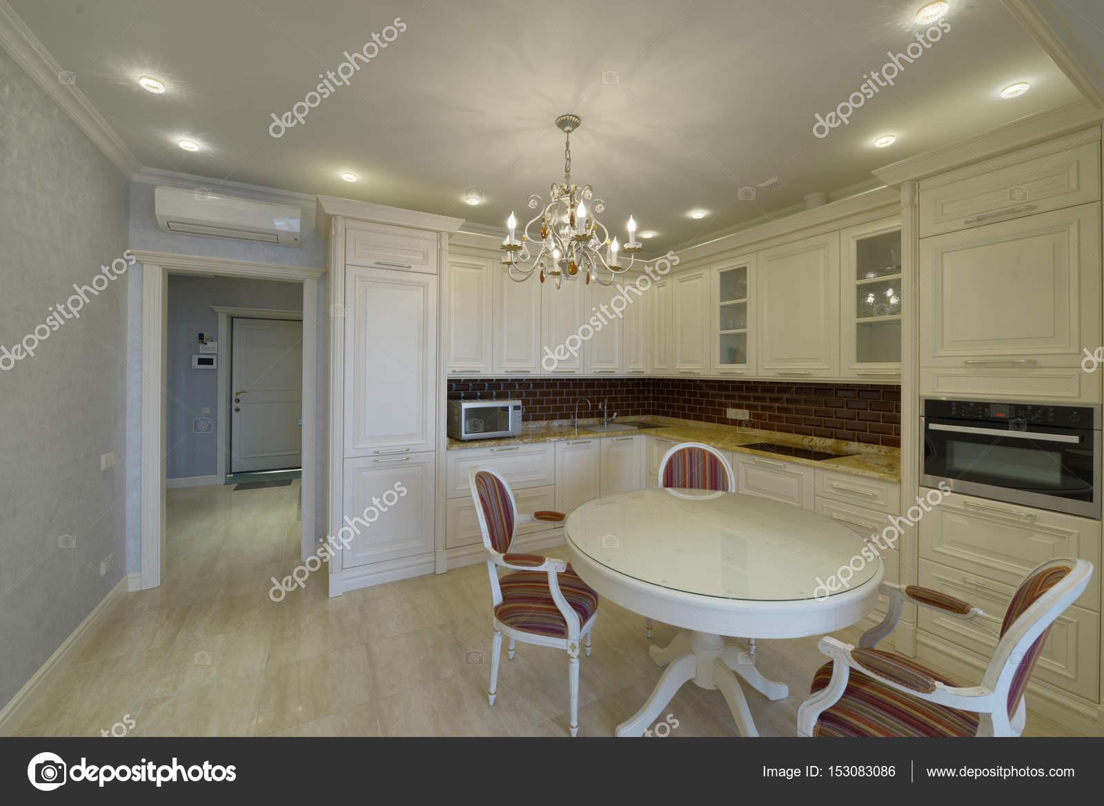 Attractive Interior Design Moderne Küche Im Neuen Haus U2014 Stockfoto