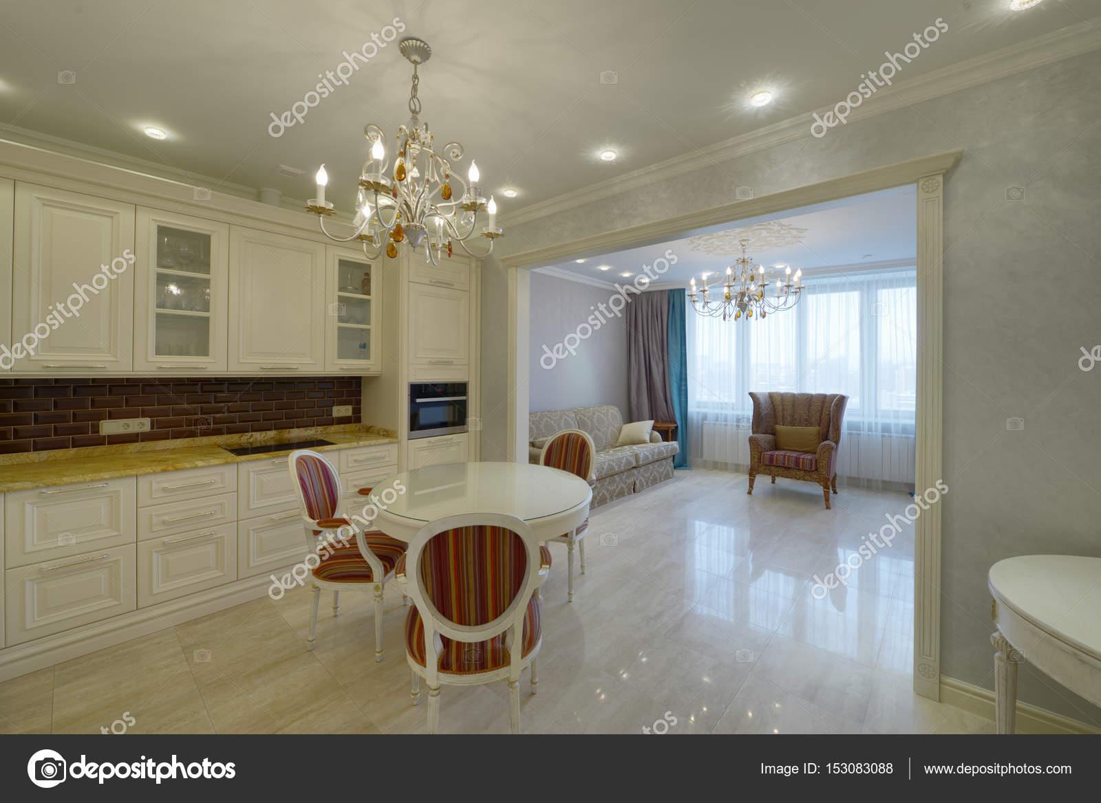 Superior Interior Design Moderne Küche Im Neuen Haus U2014 Stockfoto