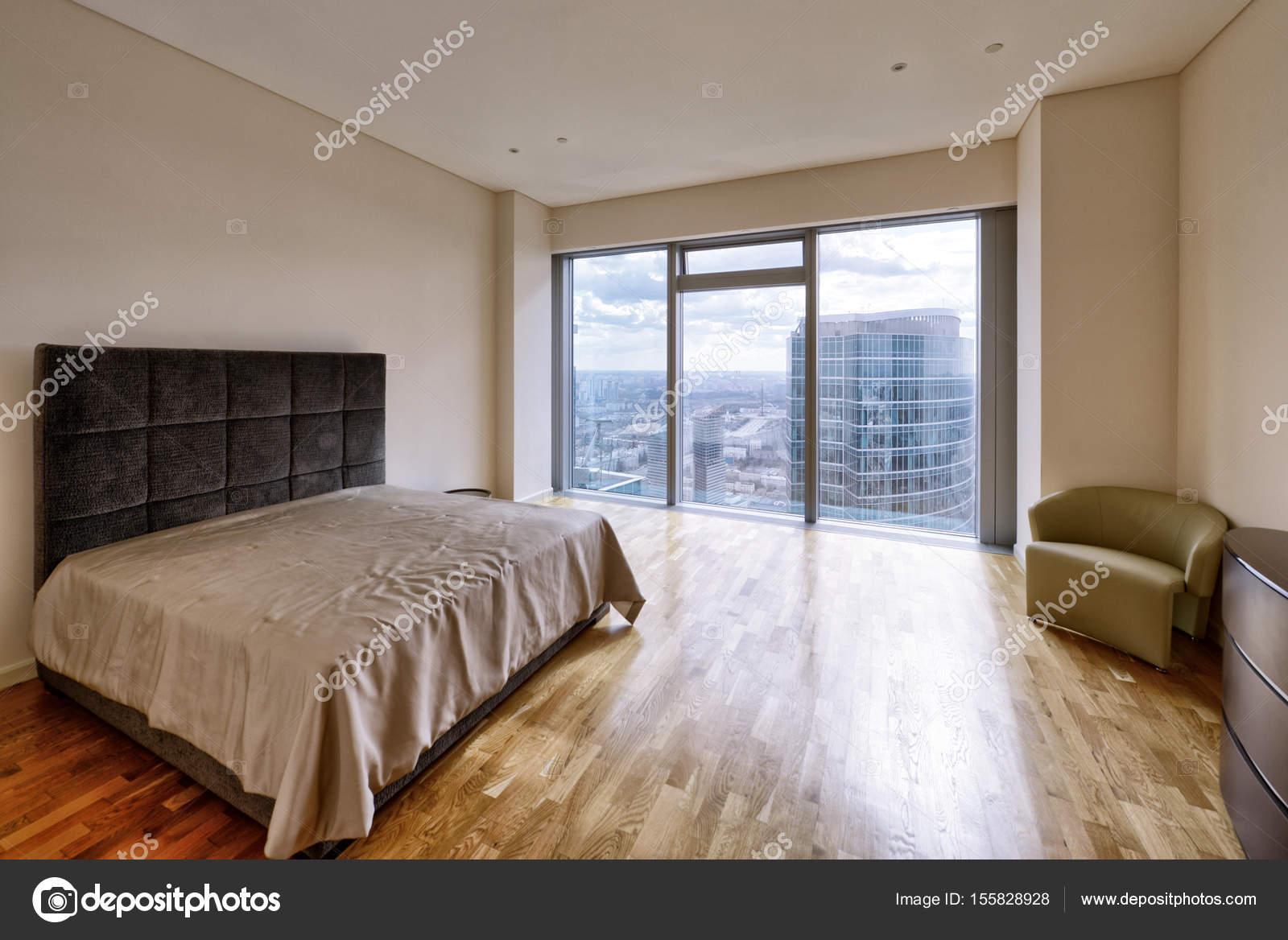 Raumgestaltung Schlafzimmer — Stockfoto © ovchinnikovfoto #155828928