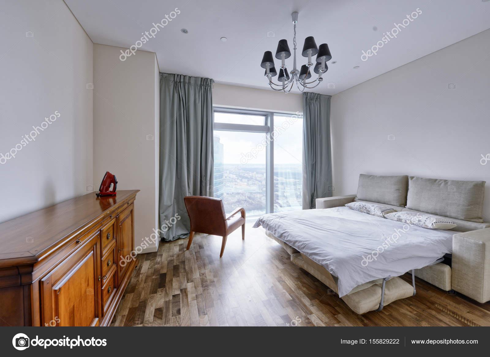 Raumgestaltung Schlafzimmer — Stockfoto © ovchinnikovfoto #155829222