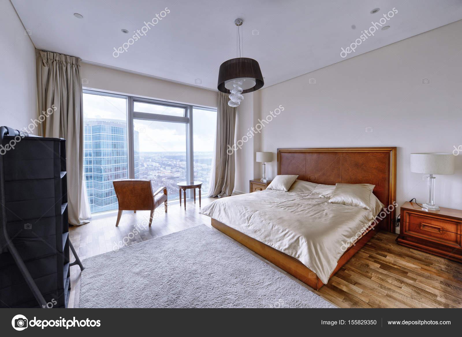 Raumgestaltung Schlafzimmer — Stockfoto © ovchinnikovfoto #155829350