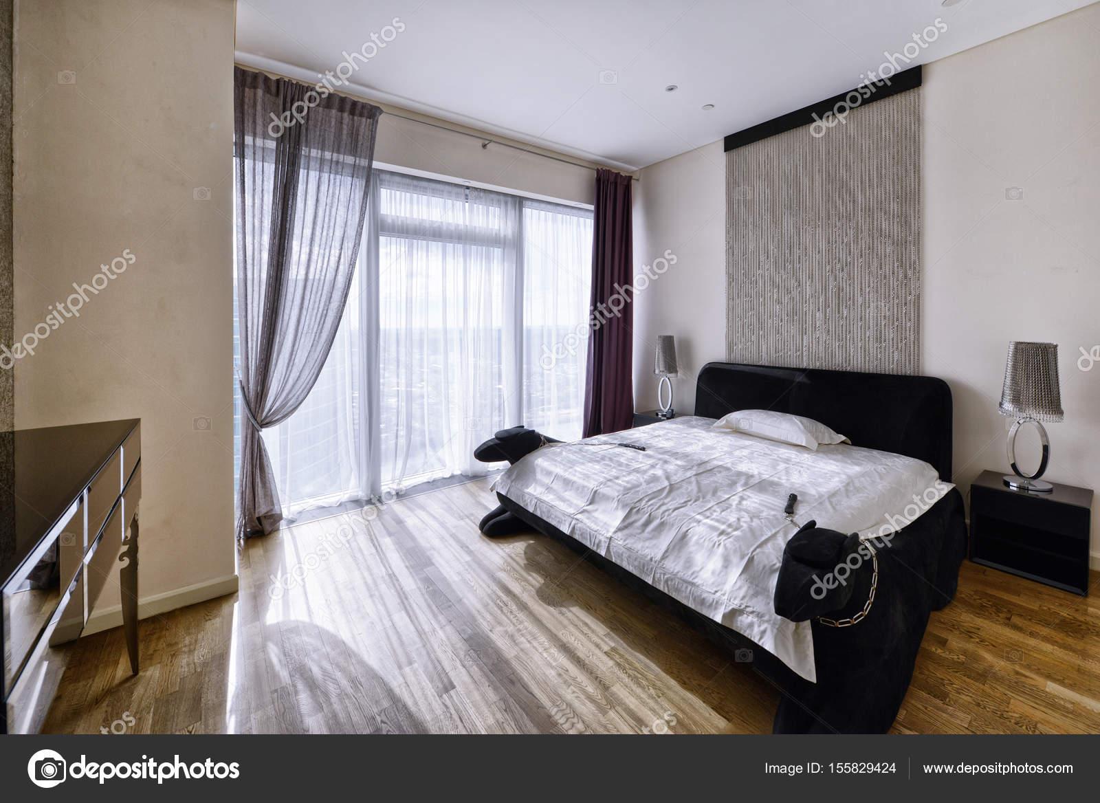 Raumgestaltung Schlafzimmer — Stockfoto © ovchinnikovfoto #155829424