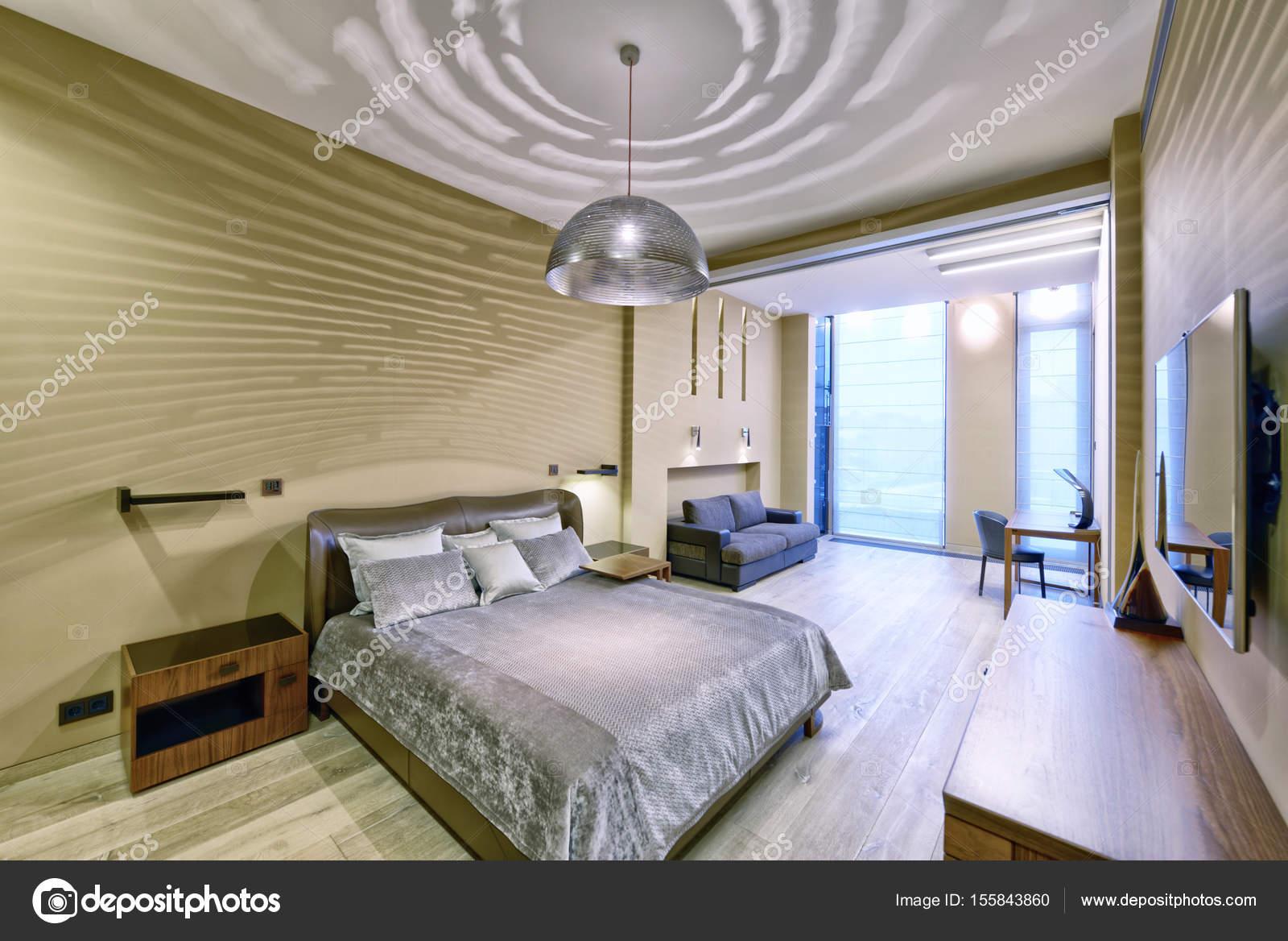 Raumgestaltung Schlafzimmer — Stockfoto © ovchinnikovfoto #155843860