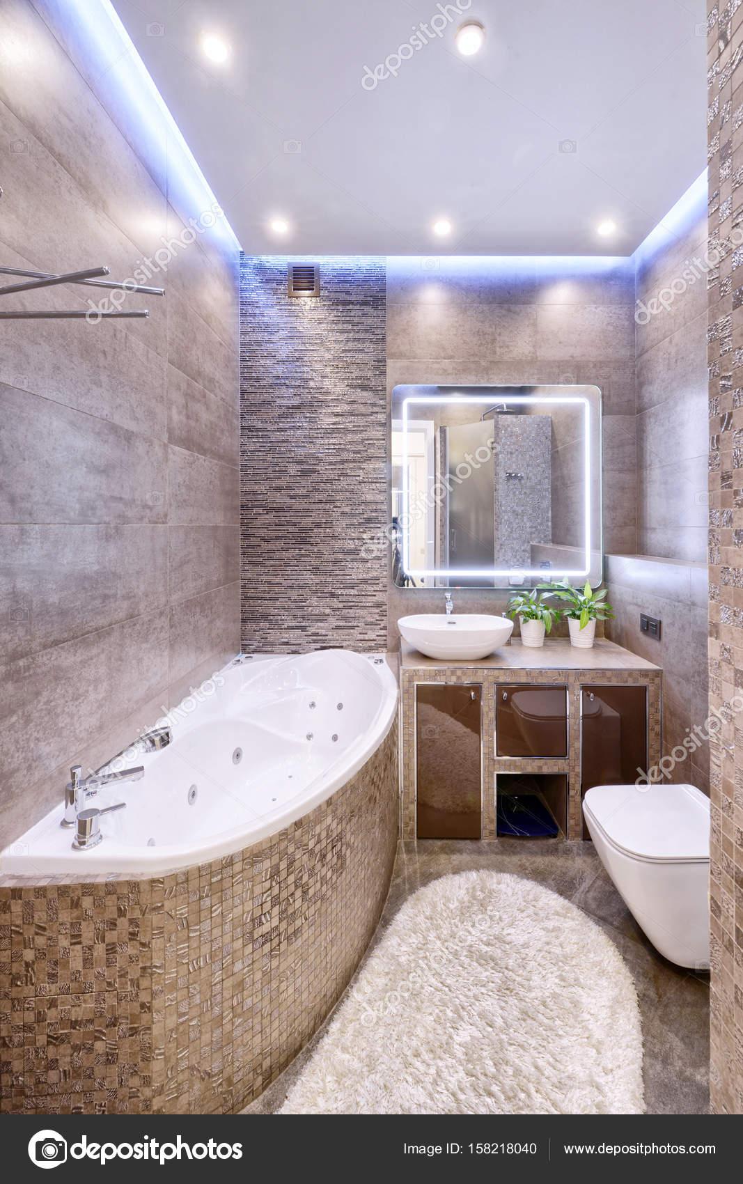 Interior Design Stilvolle Badezimmer Luxus Haus U2014 Stockfoto