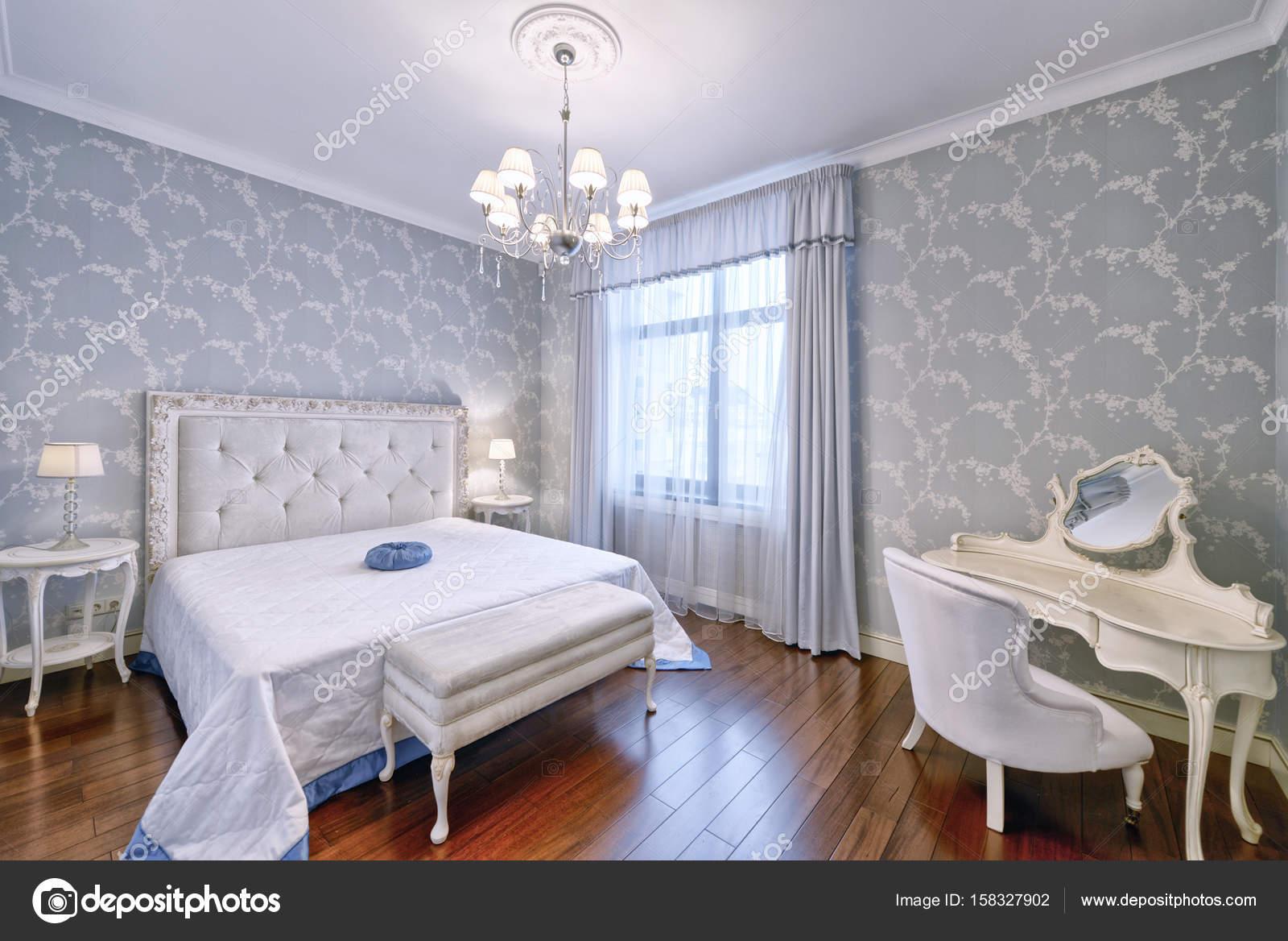 interieur-slaapkamers — Stockfoto © ovchinnikovfoto #158327902
