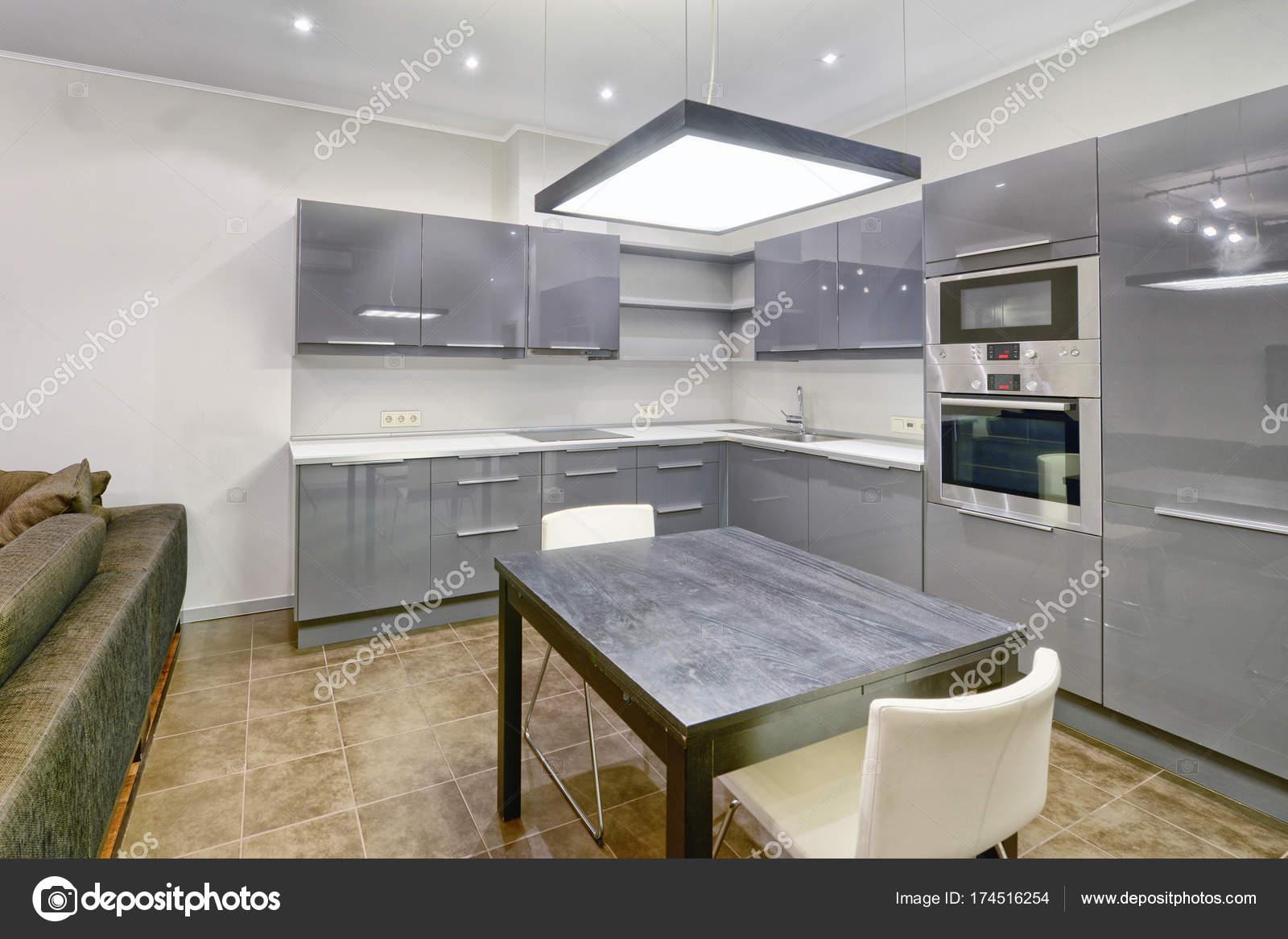 Russland Moskau - moderne Interieur Küchendesign von städtischen ...