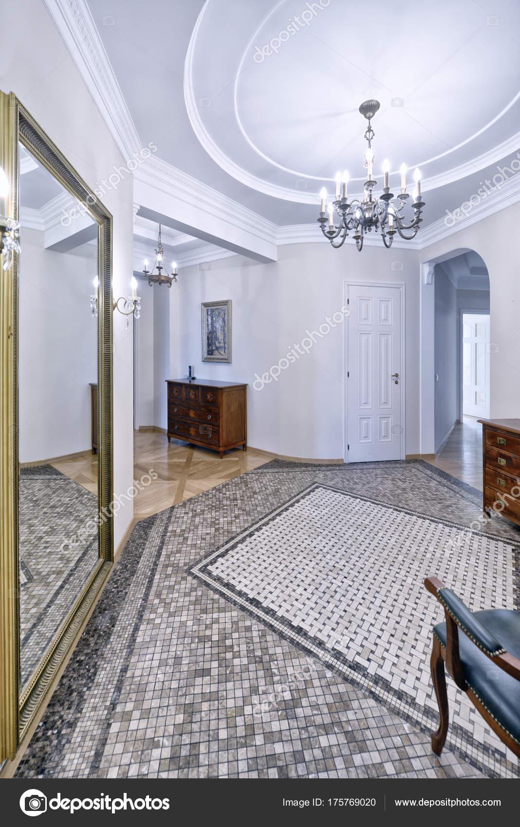 Russland Moskau Die Innenarchitektur Der Halle Eine Neue Wohnung U2014 Stockfoto
