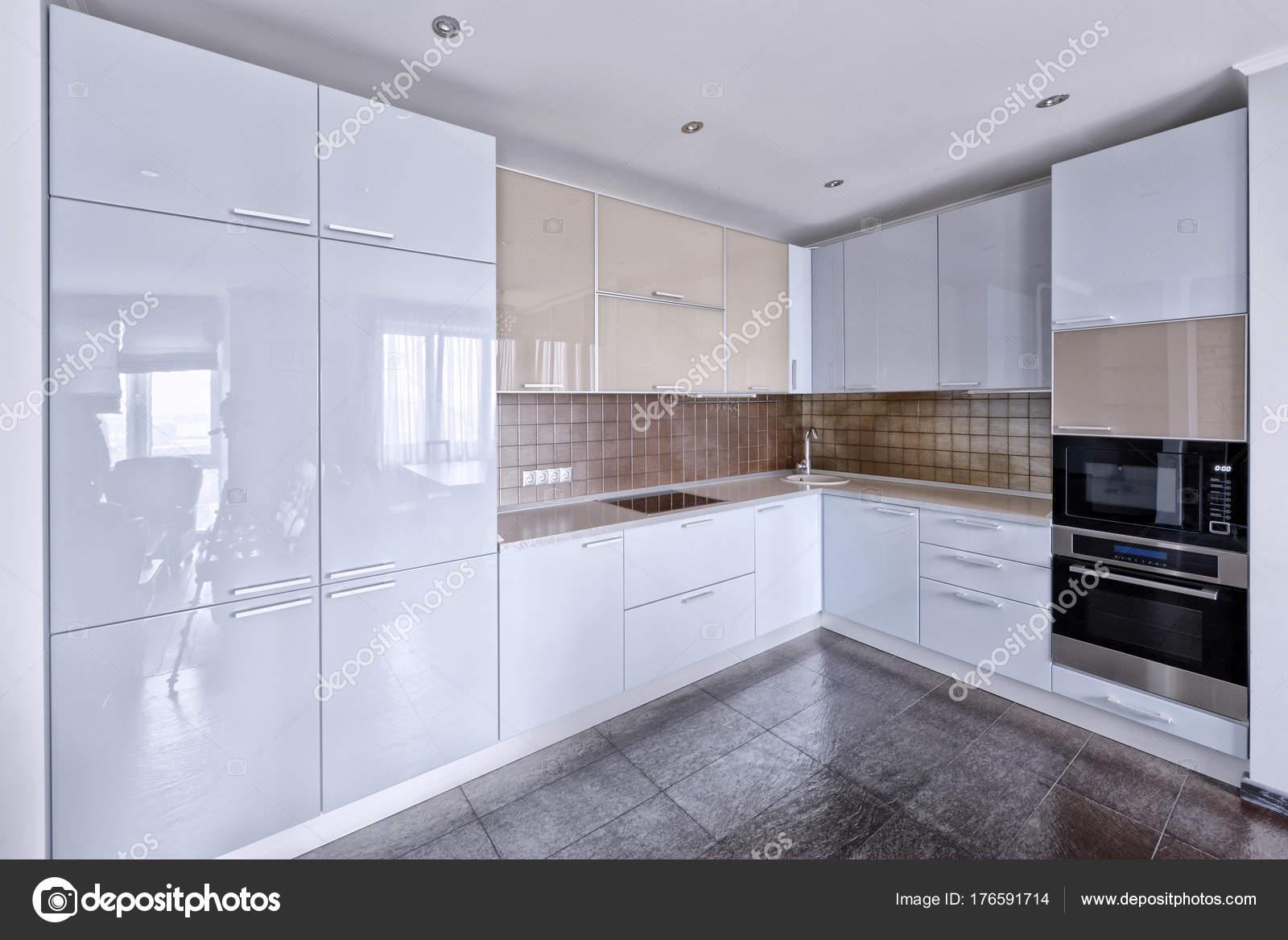 Cocina Moderna Diseño Interiores Casa Nueva — Foto de stock ...