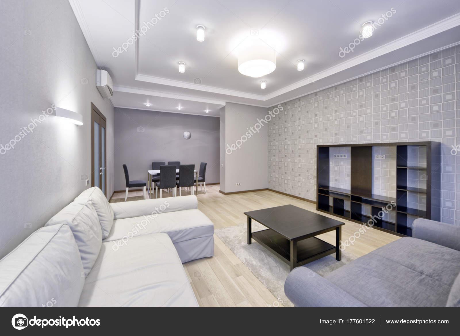 Russland Moskau Moderne Innenraum Gestaltung Städtischer Immobilien ...