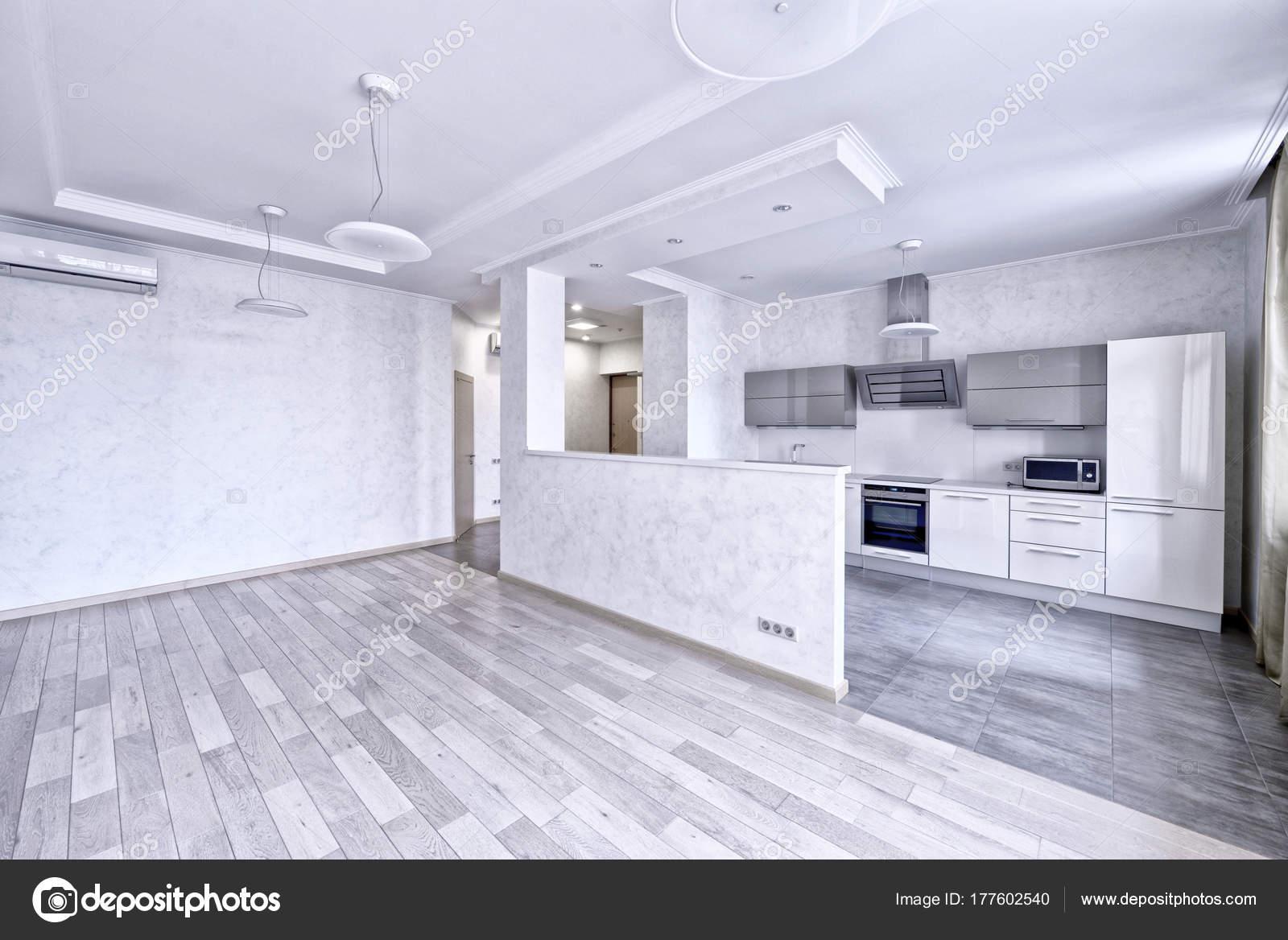 Interior Design Moderne Küche Neuen Haus — Stockfoto ...