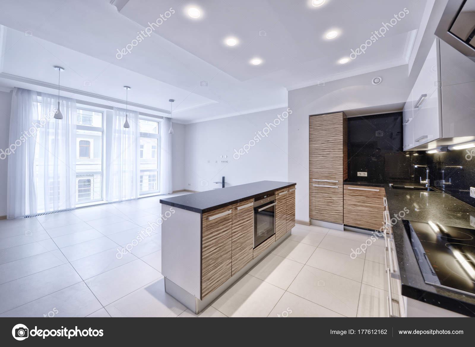 Delightful Interior Design Moderne Küche Neuen Haus U2014 Stockfoto