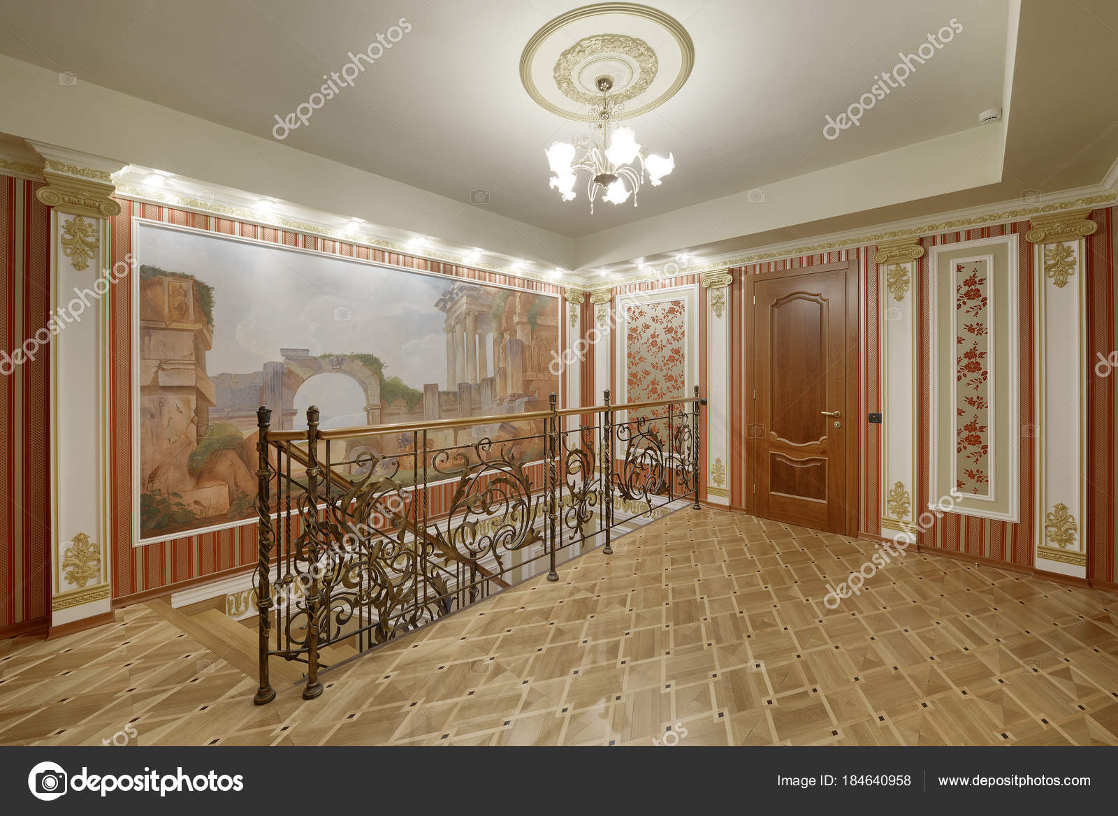 Diseno Escaleras Interior Casa Fotos De Stock C Ovchinnikovfoto - Diseo-escaleras-interiores