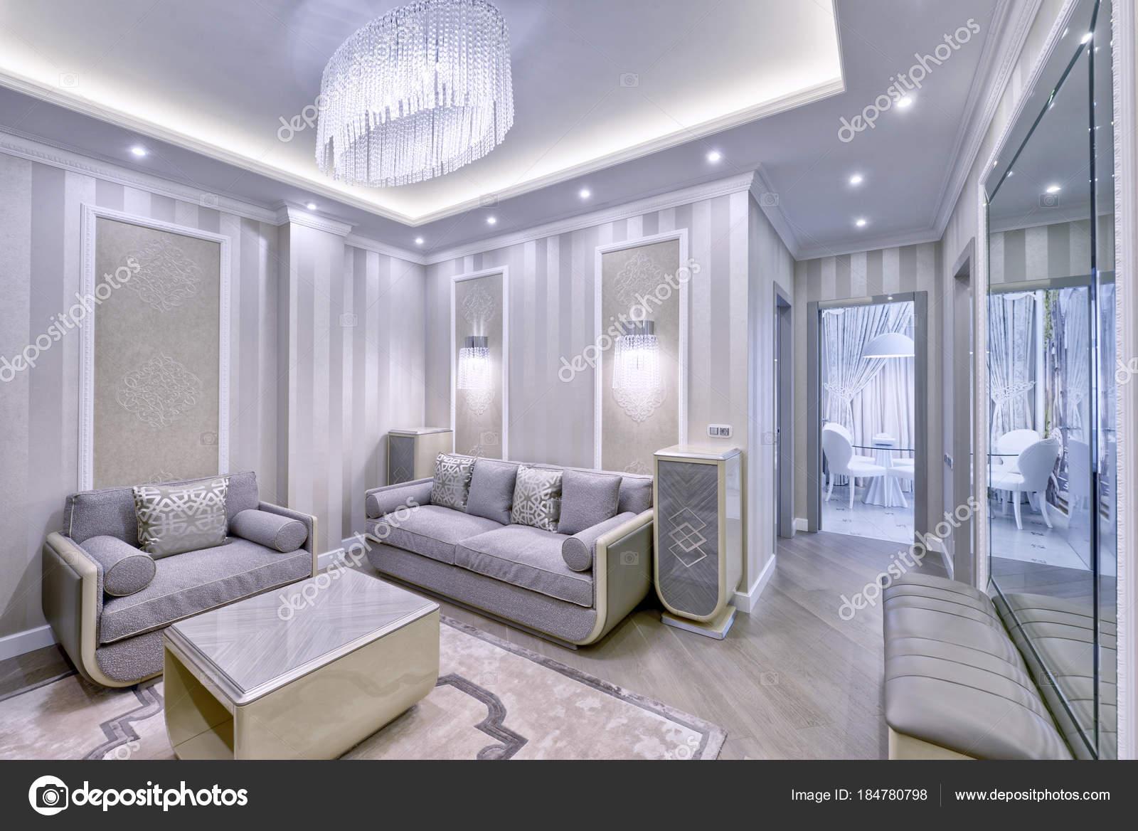 Interni dal design moderno soggiorno appartamento lusso for Design moderno interni