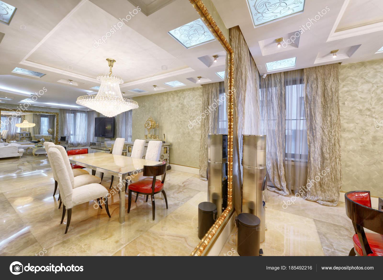 Luxe Interieur Ontwerp : Luxe interieur rusland moscow region interieur design woonkamer