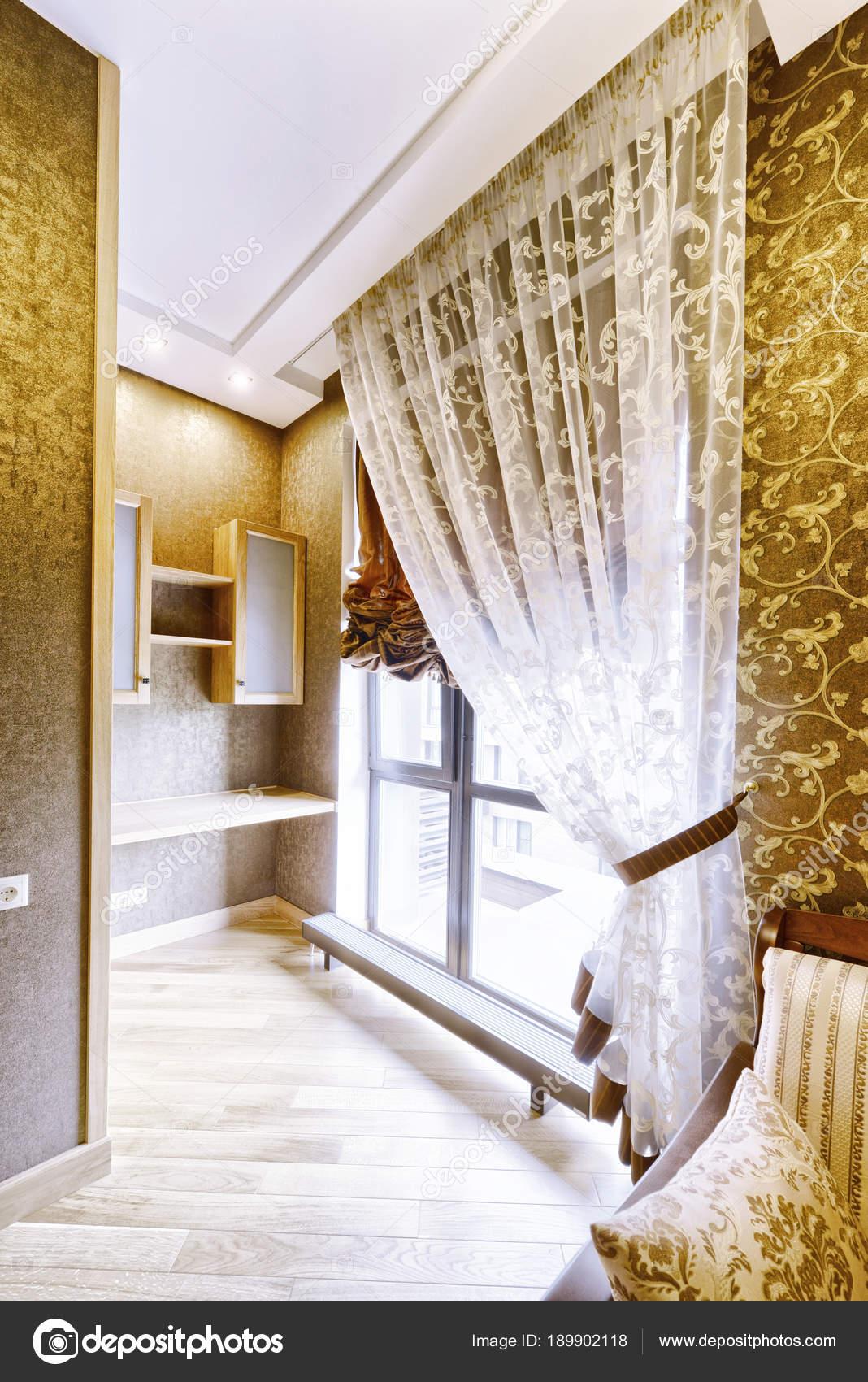 Rideaux Fenêtre Décoration Maison Moderne Pièce Intérieure ...