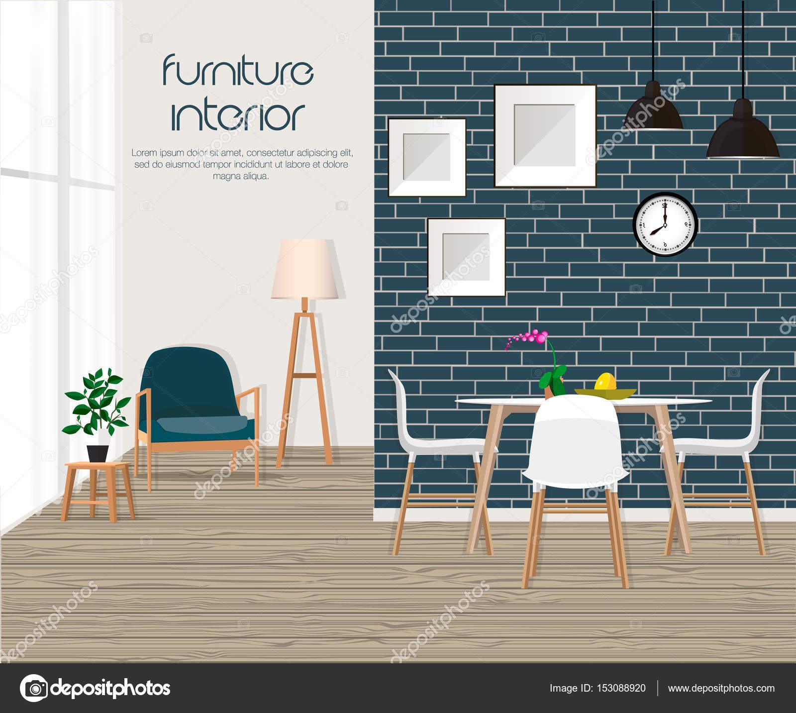 M Veis Interior Sala De Estar Com Sof Mesa Abajur Fotos  -> Abajur Para Sala De Estar E Jantar