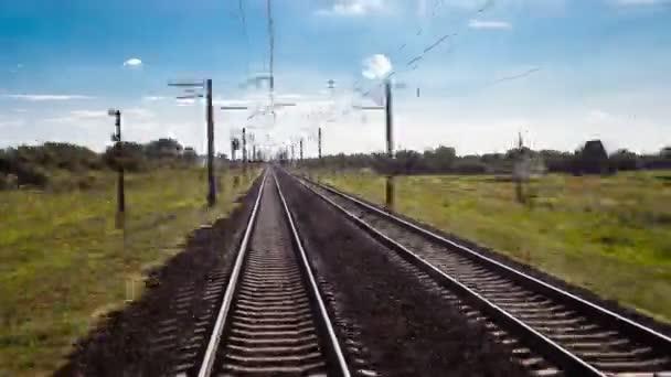 időeltolódás vasút, közlekedés, utazás, kilátás egy vonat autó