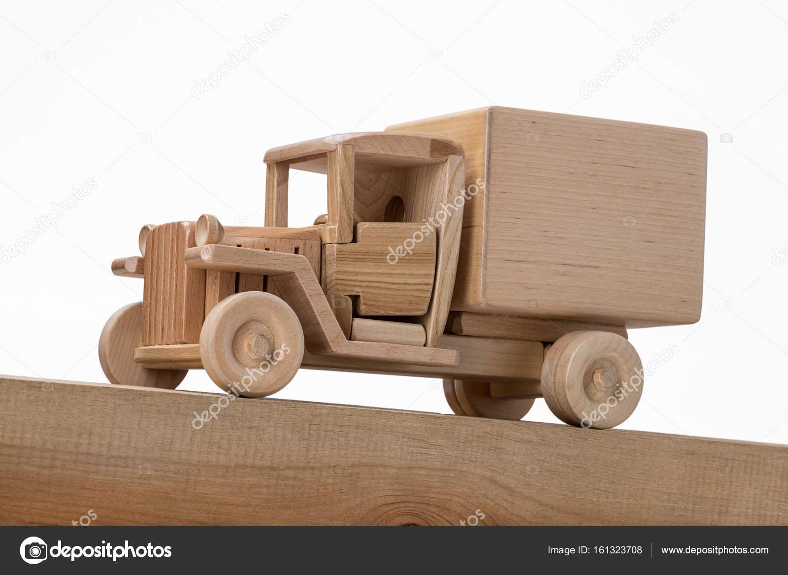 Modèle Camion Sur En Bois Surface D'un Inclinée Vieux Une rtQxdshC