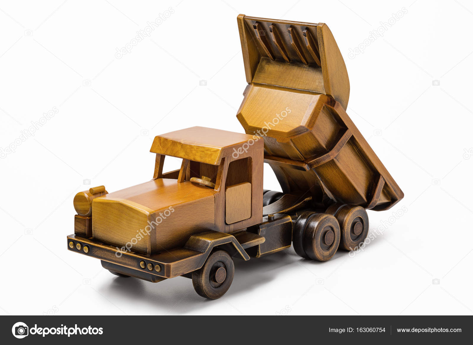 Fotos Carros De Madera Carro De Descarga De Coches Miniatura