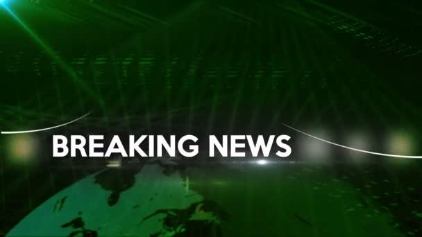 Breaking news obecné pozadí 4k