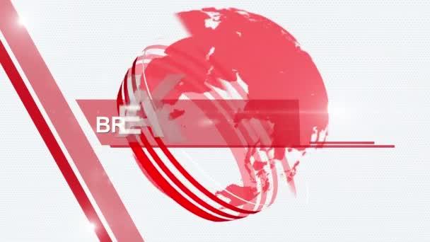 Globus aktuální zprávy obecný červený 4k