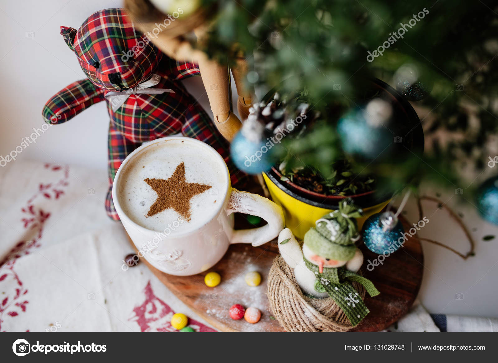 Good Christmas Morning Stock Photo Ady Art 131029748