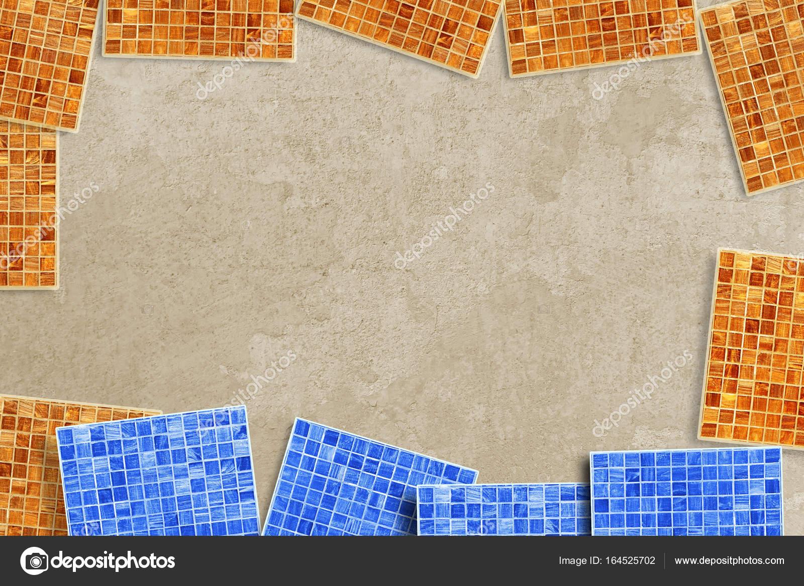 MosaikFliesen Für Fußböden Und Wände Kompositionen Auf Zement - Mosaik fliesen fußboden