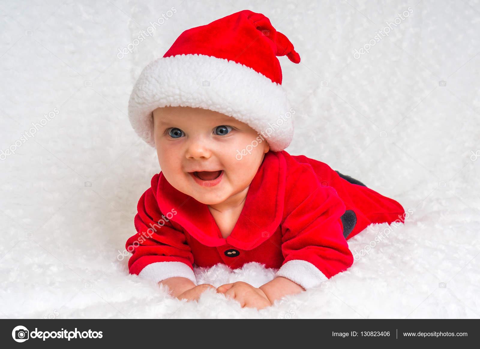 Vicces karácsonyi baba Mikulás jelmez — Stock Fotó © andriano cz ... b9951c4560