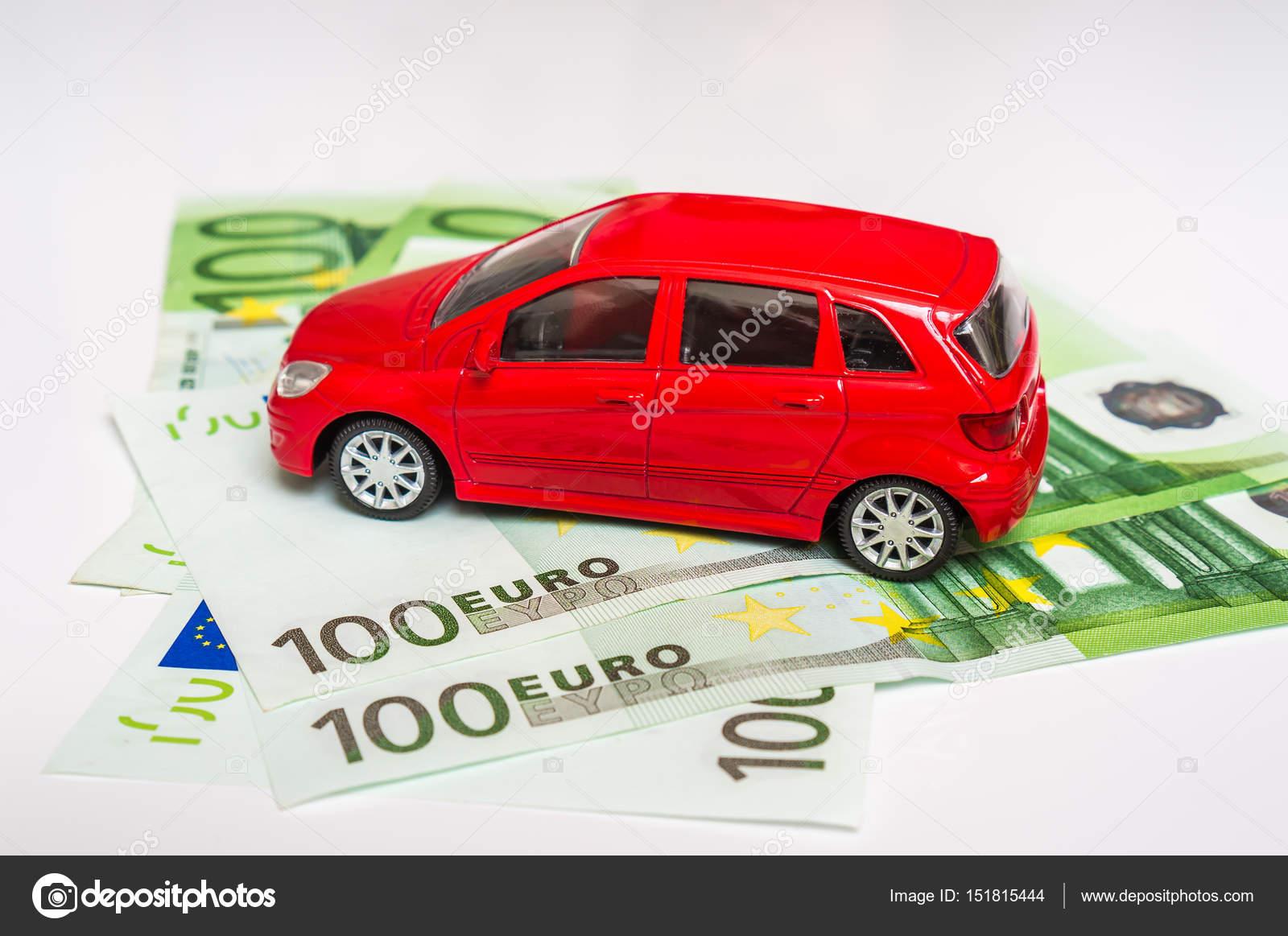Speelgoed Auto En Euro Geld Verzekering Huren En Kopen Van Auto