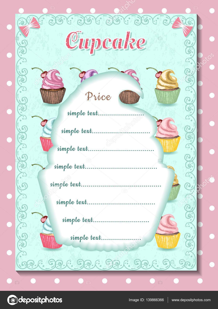 Cake Price List Template from st3.depositphotos.com