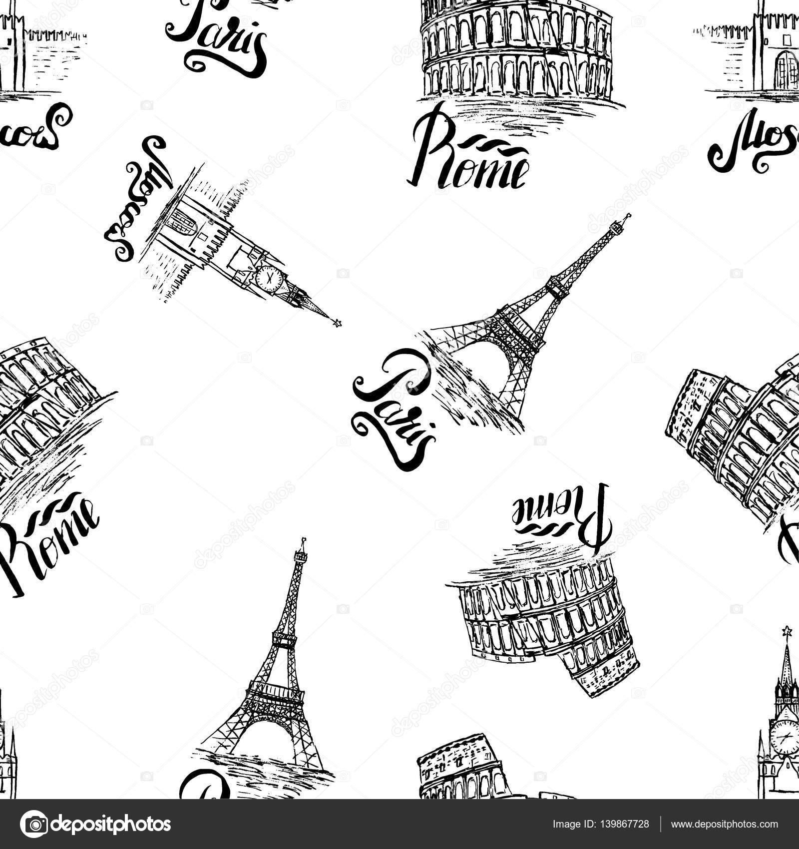 Eyfel Kulesi kurmak için kalem