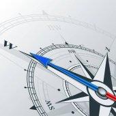 Šipka kompasu směrem