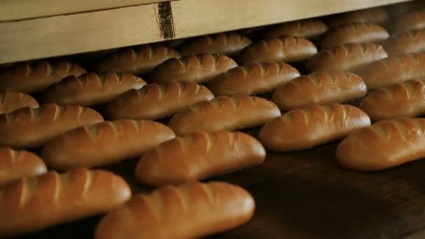 sült kenyeret, kenyeret a pékségben