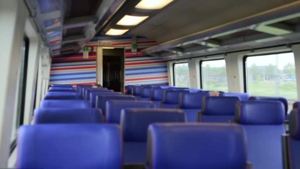 uvnitř Vysokorychlostní vlak